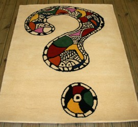 Question Mark Custom Rug