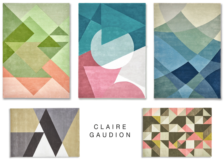 Claire Gaudion Rugs - tufted range