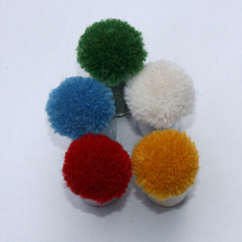 Custom Logo Rug Color Poms