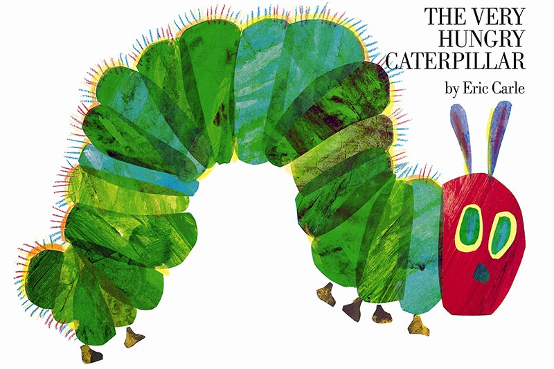 A very hungry caterpillar original artwork