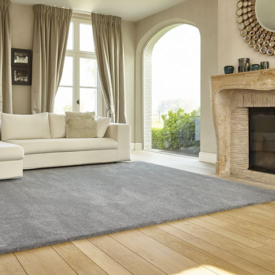 Gentle Bliss carpet bespoke rug in Pure finish 860 Granite