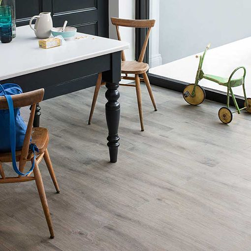 Lifestyle Floors Colosseum Taupe Oak roomshot