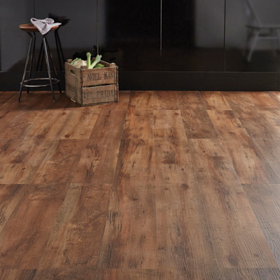 Lifestyle Floors Colosseum Antique Oak in room with stool