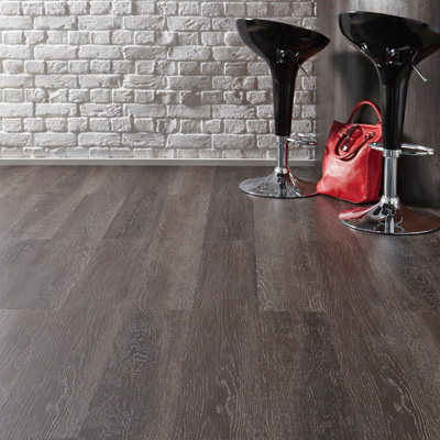 Lifestyle Floors Colosseum Impressions Oak in room with bar stool