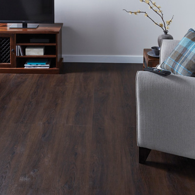 Lifestyle Floors Palace Clarence Oak LVT Flooring in living room