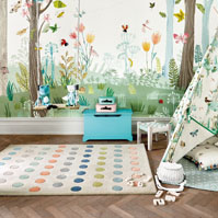 Dotty rugs by Villa Nova