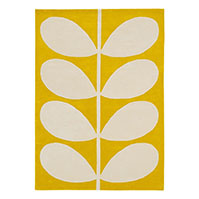 Orla Kiely Yellow Stem Rugs