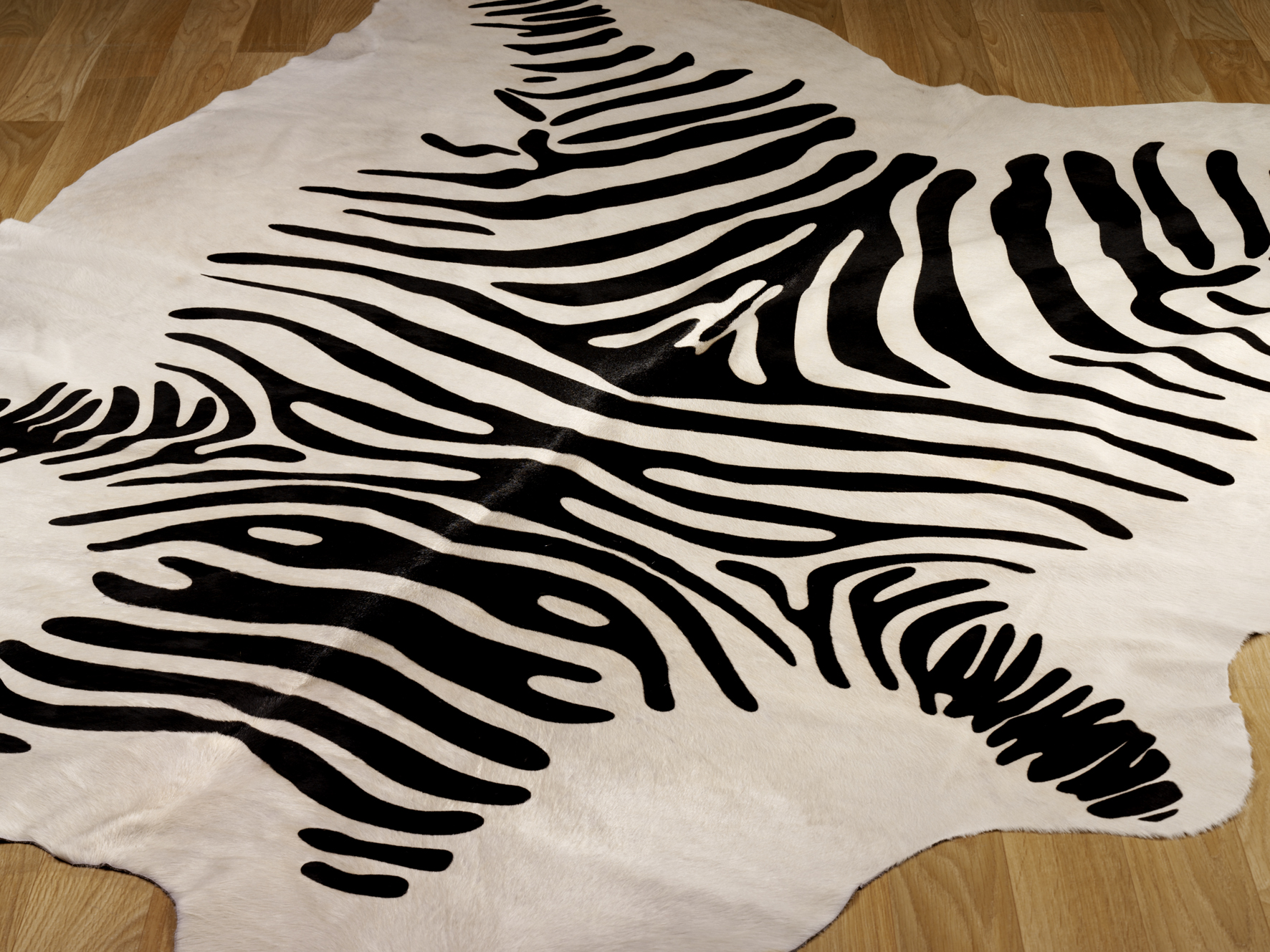 cow hide rodeo hides zebra white black rug