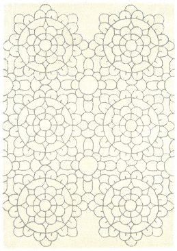 Matrix Crochet Cream MAX19 Rug