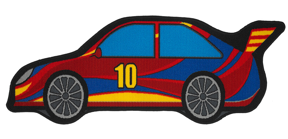 Kids Bambino Race Car Rug