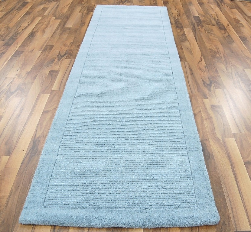 York Duck Egg Runner Rug