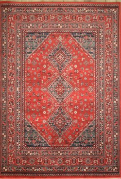 Afghan machine made rugs