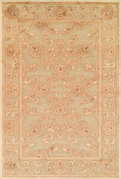 Viscose and chenille Jewel rugs