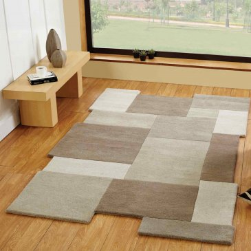 Wool Abstract Rug