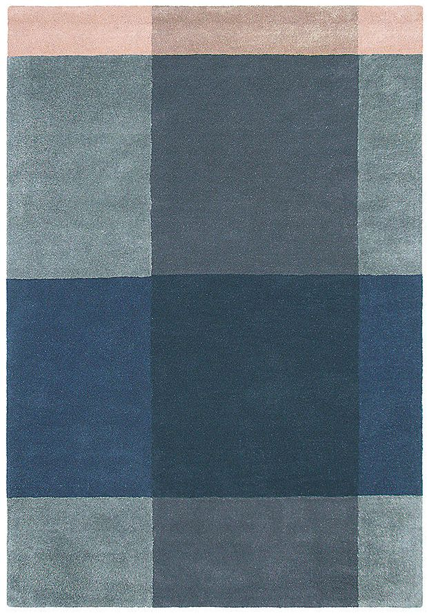 Ted Baker Plaid Grey 57804 Rug