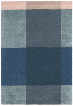 Wool Plaid rug