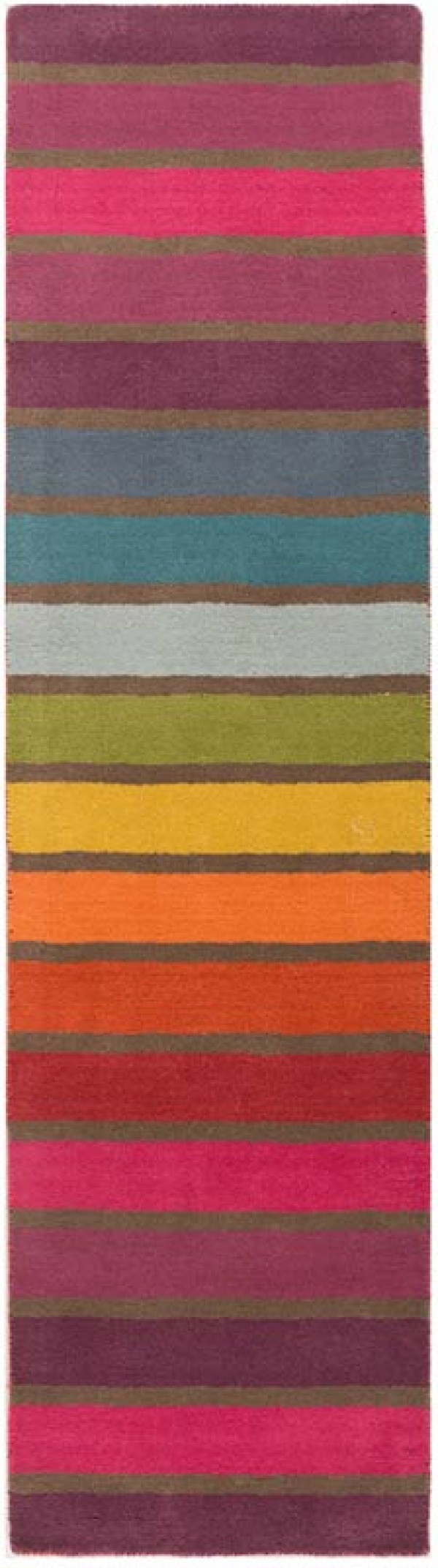 Illusion Candy Multi Runner Rug