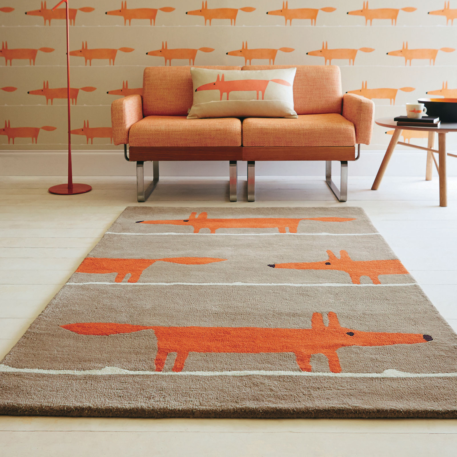 Scion Mr Fox Cinnamon 25303 Rug