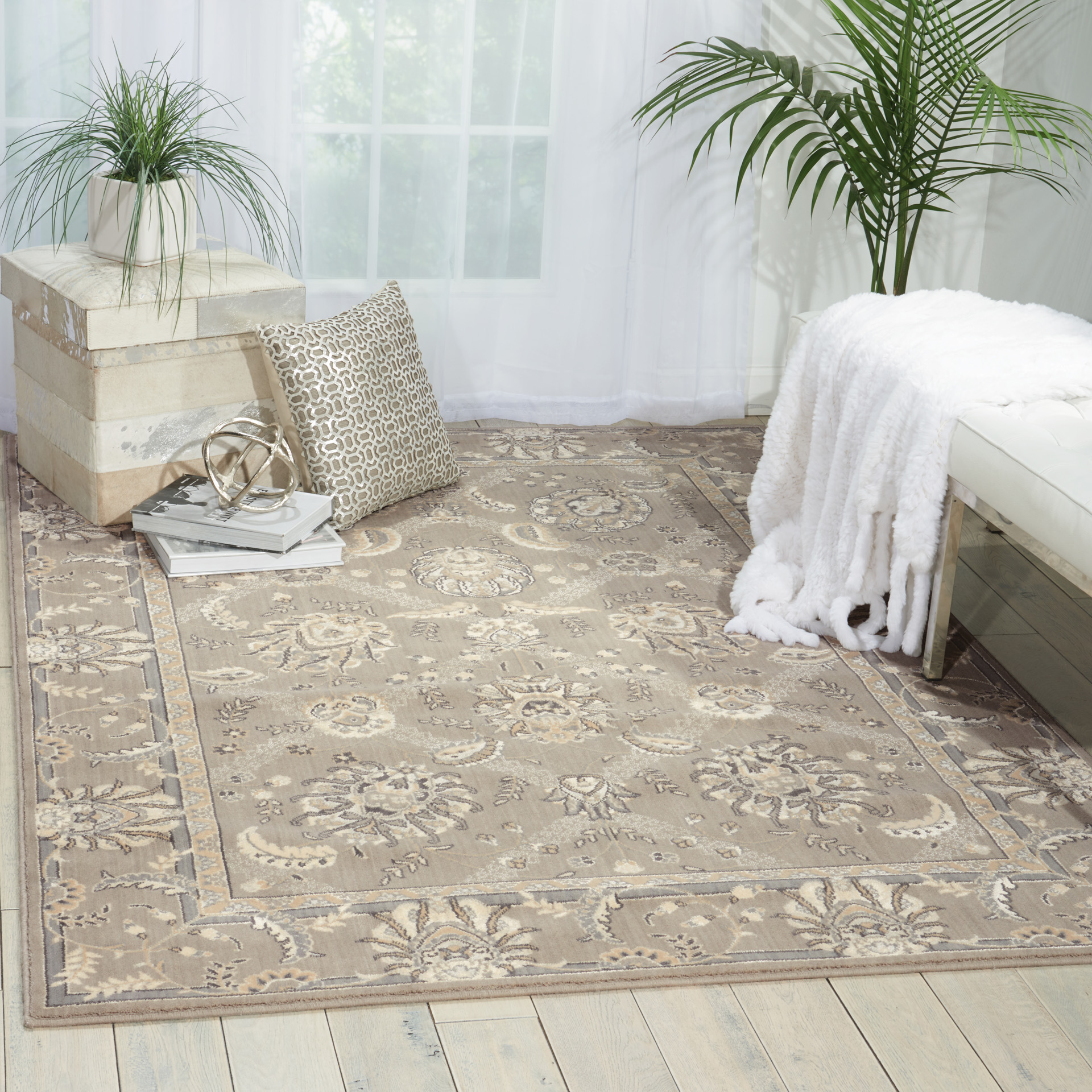 Nourison Persian Empire Flint PE22 Rug