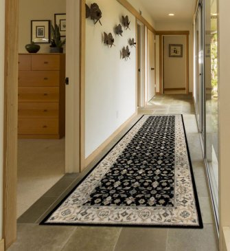Nourison Persian Empire Black PE26 BLK Runner