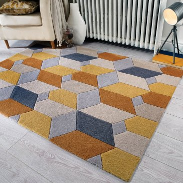 Polyester Infinite Scope rug
