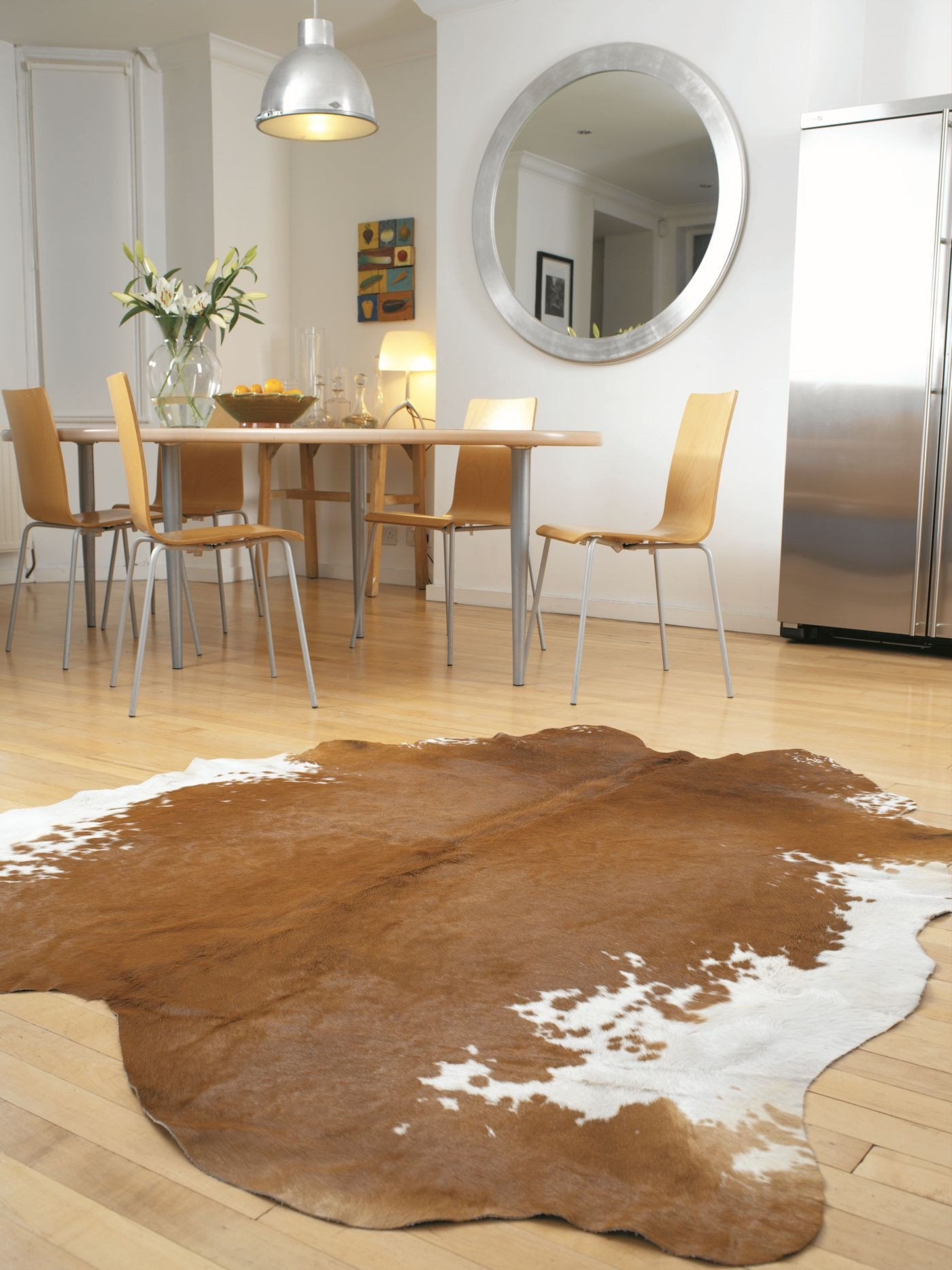 Rodeo Brown/White Rug