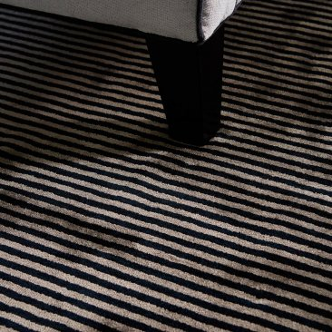Viscose Chrome rug