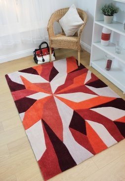 Polyester Infinite Rug