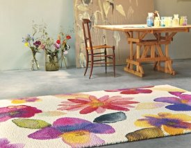 Wool Kaleidoscope rug
