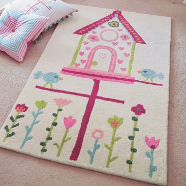 Wool Harlequin Kids Rug