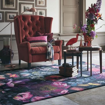 Wool Shadow Floral rug