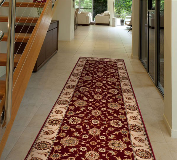 Nourison Persian Crown PC002 Red Runner Rug