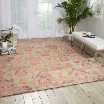 Wool Silk Shadows rug