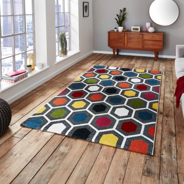 Polypropylene Sunrise Rug