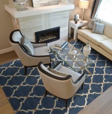 Wool Empire Trellis Rug