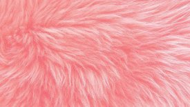 Bowron Sheepskins Longwool Four Piece Candy Floss
