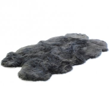 Wool Longwool Four Piece Rug