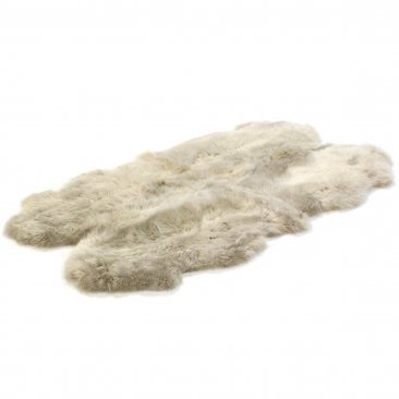 Bowron Sheepskins Longwool Four Piece Stone