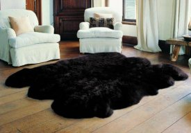 Wool Longwool Six Piece Rug