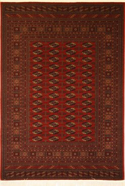 Love-Rugs Kirman Turkman Red