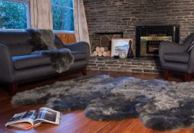 Wool Longwool Eight Piece Rug