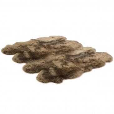 Bowron Sheepskins Longwool Eight Piece Paco