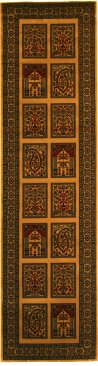 Love-Rugs Kirman Beige Garden Runner