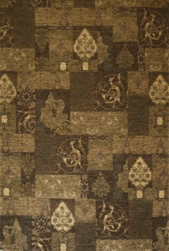 Love-Rugs Carlucci Brown Patchwork