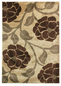 Hand Carved Vine - Beige Brown