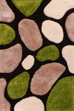 Polyester Stepping Stone Rug