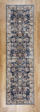 Alhambra 6549A Light/Dark Blue Runner