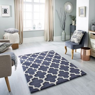 Wool Arabesque Rug