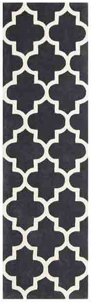Arabesque Slate Runner Rug