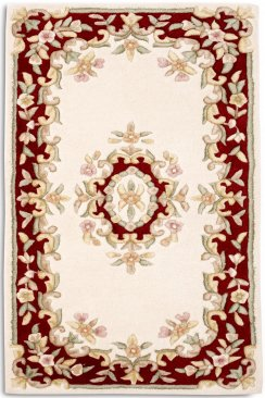 Wool Jewel Rug